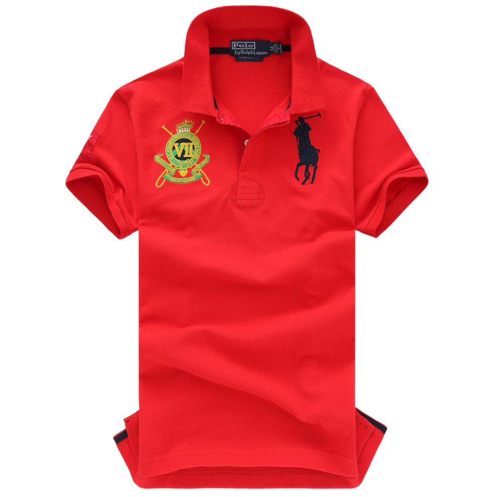 Ralph Lauren Polo original  100% хлопок мужская футболка поло ралф лорен