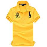 В стиле Ральф поло 100% хлопок мужская футболка поло ралф, фото 6