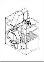 Майданчик обслуговування норії НЗ-50 Optim