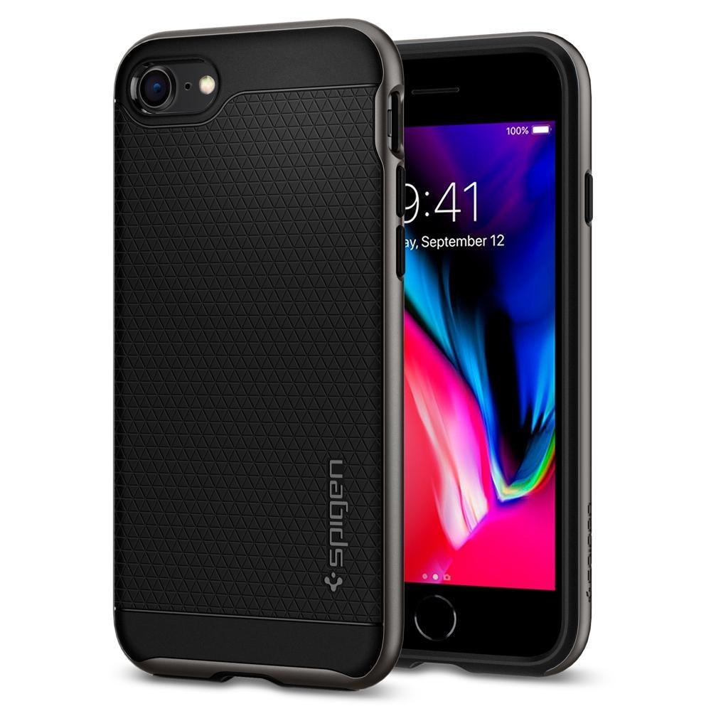 "Чехол Spigen Neo Hybrid 2 iPhone 8/7 {4.7""} gunmetal (054CS22358) EAN/UPC: 8809565302275"