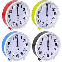 От 2 шт. Настольные часы - будильник 201/Х2-21 14*14*4 см купить оптом в интернет магазине От 2 шт.