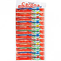 """Зубные щётки """"CARONA"""" 18,5 см на блистере"""