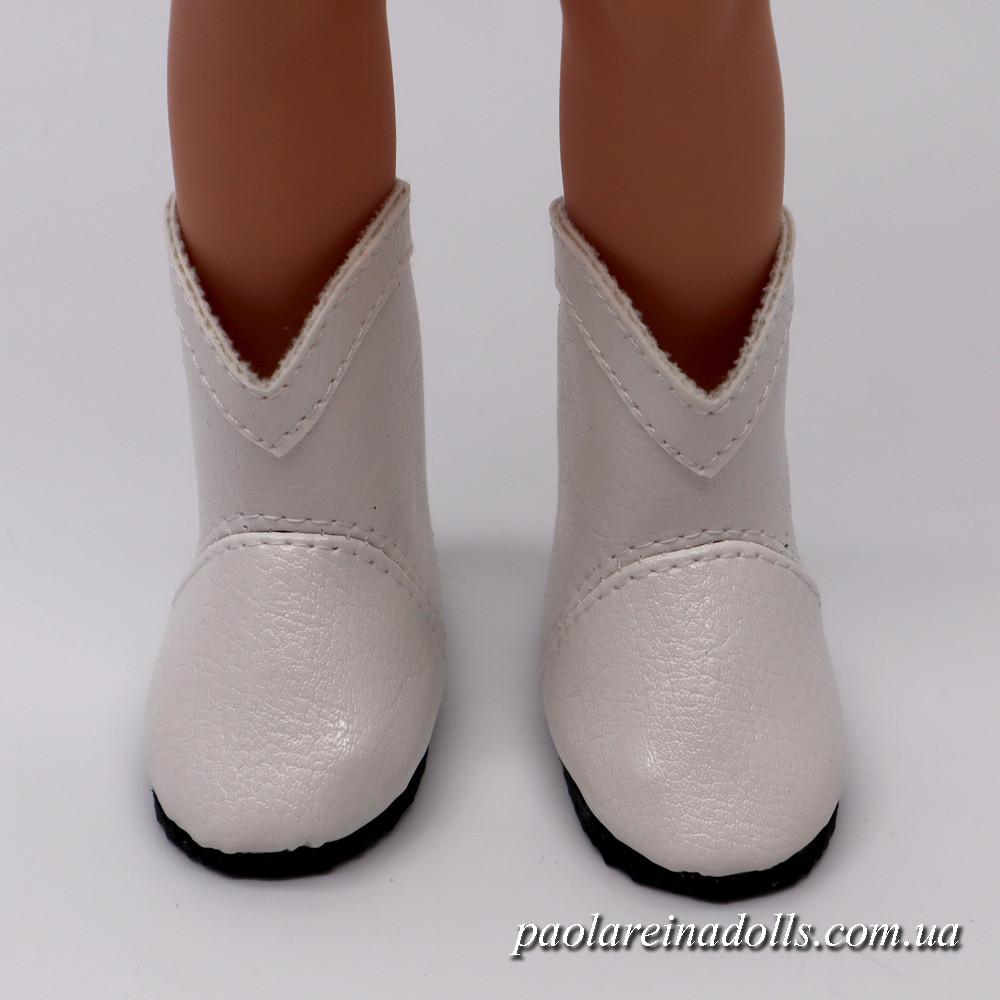 Сапожки белые для кукол Паола Рейна