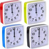 От 2 шт. Настольные часы - будильник Х2-22/202 14*14*4 см купить оптом в интернет магазине От 2 шт.