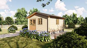 Садовый домик 5х5 м из бруса в Украине. Кредитование строительства деревянных домов