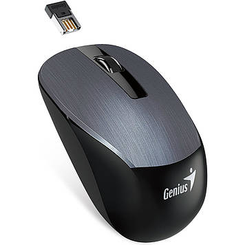 Миша Genius NX-7015 Wireless Iron Grey (31030119100)