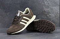 Кроссовки мужские Adidas Neo коричневые 4304