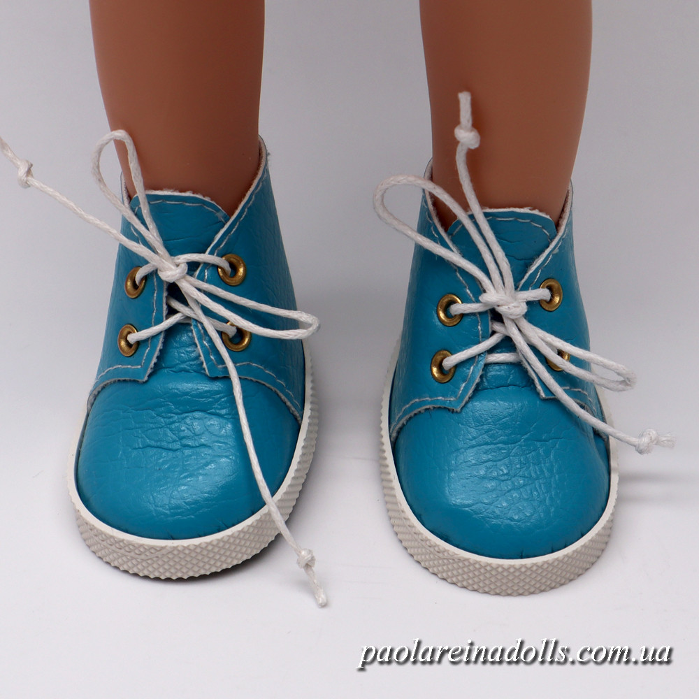 Ботиночки бирюзовые для кукол Паола Рейна