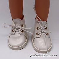 Ботиночки белые для кукол Паола Рейна