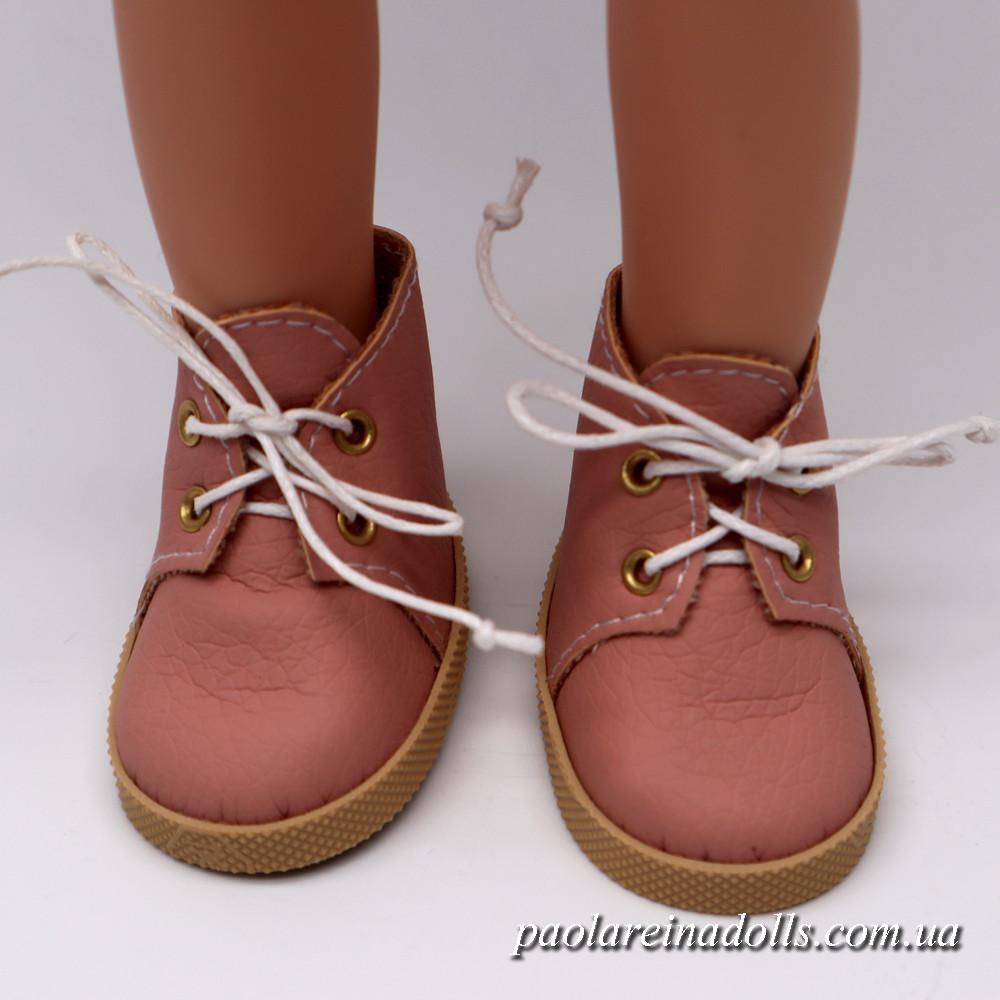 Ботиночки пудра для кукол Паола Рейна