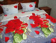 Постельное белье розы