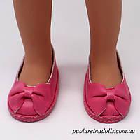 Туфли ярко розовые для кукол Паола Рейна