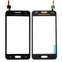 TouchScreen Samsung G355 Темно серый