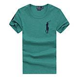 У стилі Ральф поло 100% бавовна чоловіча футболка ралф, фото 4