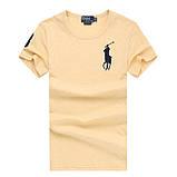 У стилі Ральф поло 100% бавовна чоловіча футболка ралф, фото 7