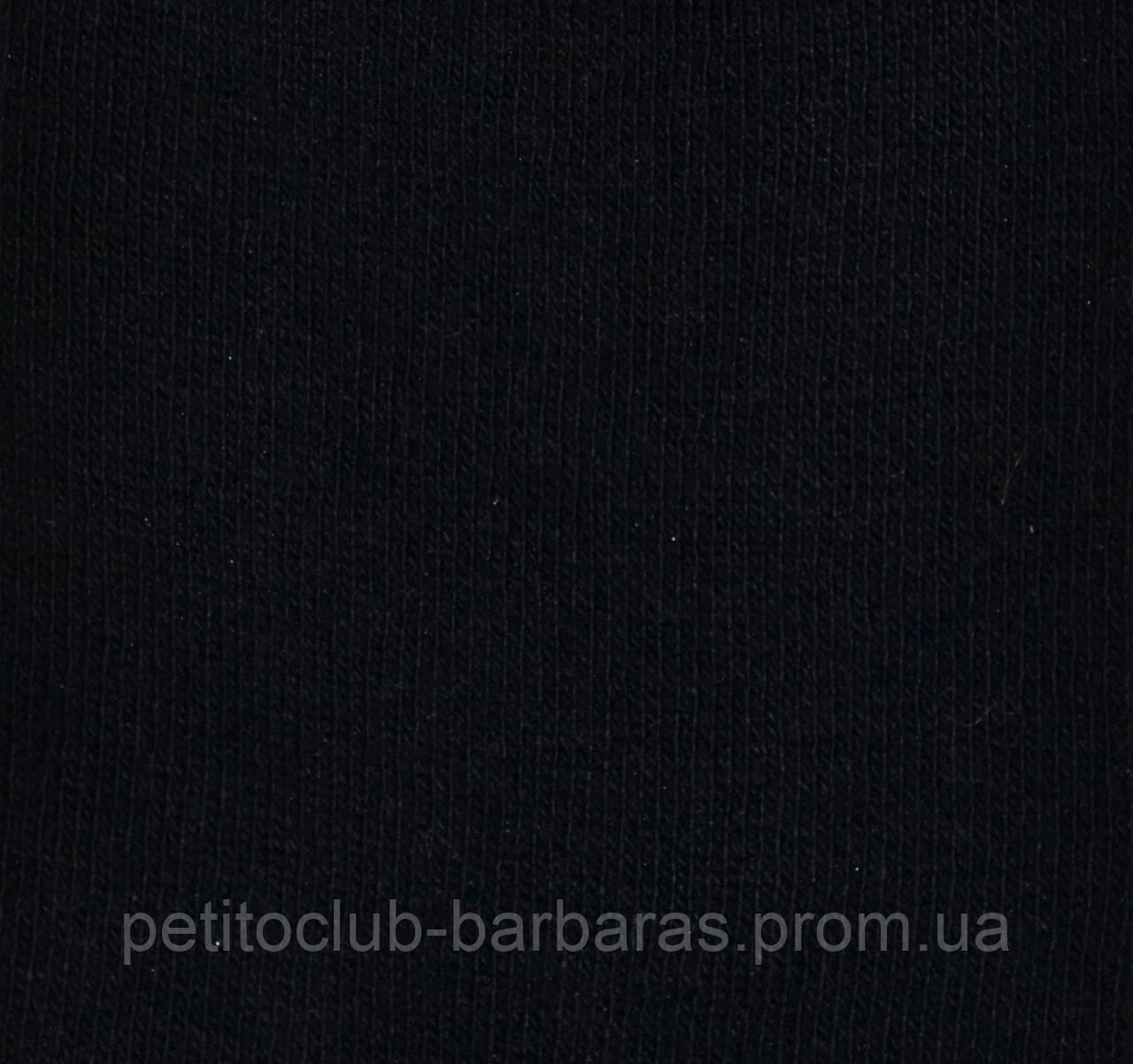 Детские хлопковые носки черные р. 27-29 (Oztas, Турция)