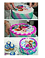 Вафельная картинка на торт Маша и Миша, фото 2