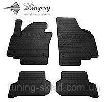 Резиновые коврики  SEAT Altea XL 2009-  (Сеат Альтеа) количество 4 штуки