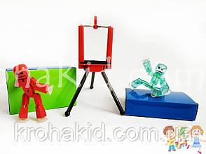 Фігурка чоловічка StikBot для анімаційного творчості TST616 в коробці (кольори в асортименті), фото 3