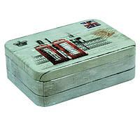 Жестяная банка для конфет Винтаж Лондон 75г