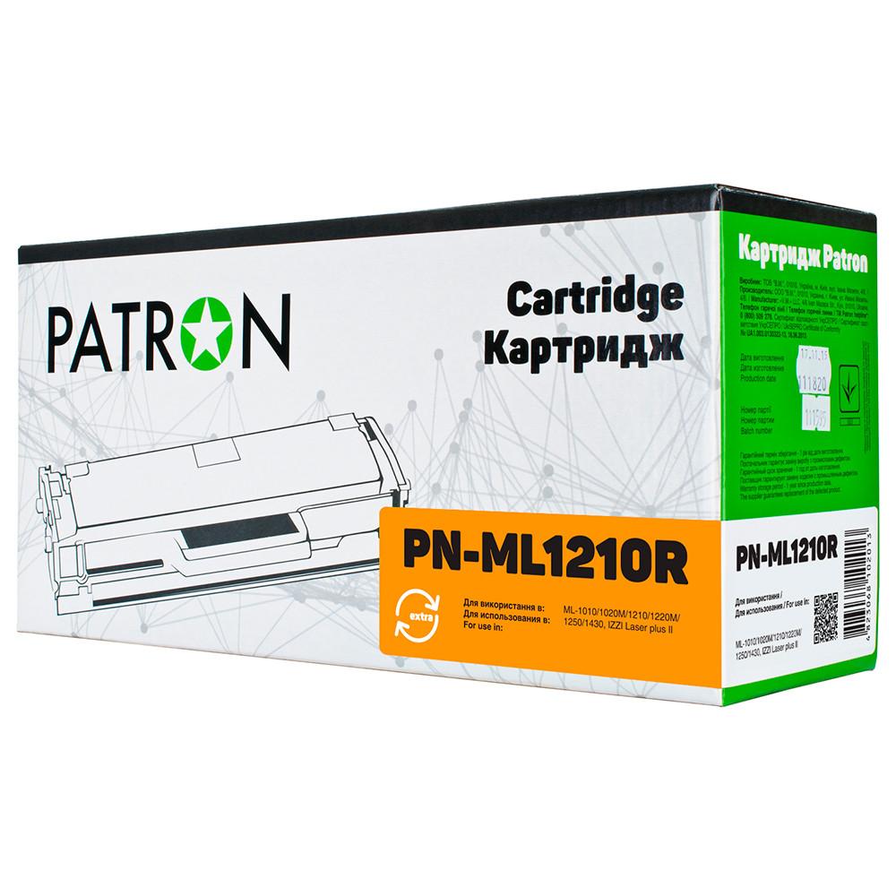 Картридж Samsung ML-1210D3, Black, ML-1010/1020M/1210/1220M/1250/1430, ресурс 2500 листов, Patron Extra (PN-ML1210R)