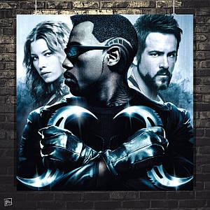 Постер Blade, Блэйд. Размер 60x60см (A1). Глянцевая бумага