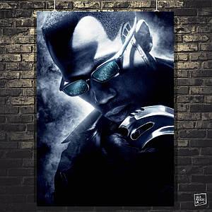 Постер Blade, Блэйд. Размер 60x43см (A2). Глянцевая бумага