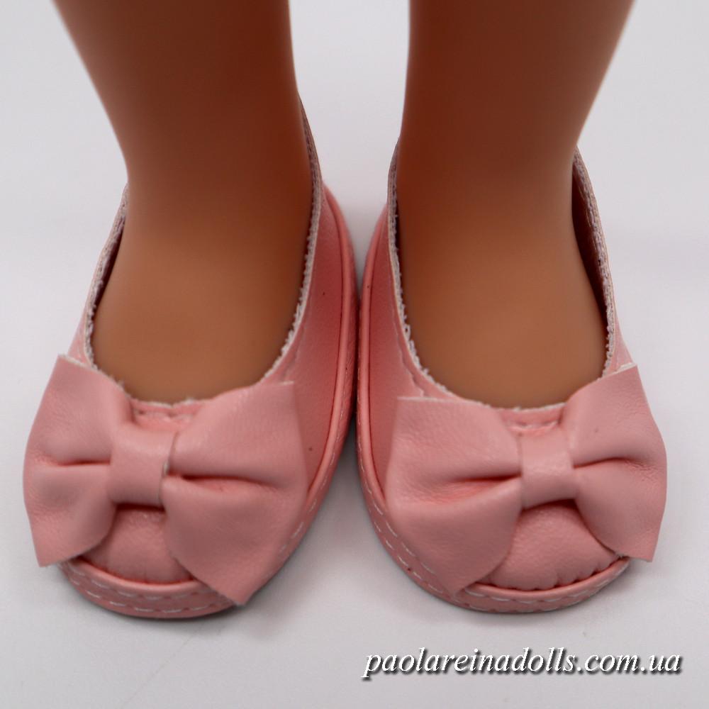 Туфли розовые для кукол Паола Рейна