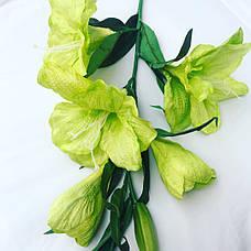 Искусственный амариллис.Ветка для напольной вазы., фото 3