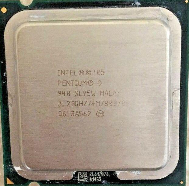 Процессор Intel Pentium D 940 3.20GHz/4M/800 (SL95W) s775, tray