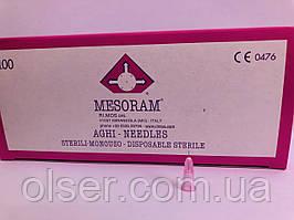 Иглы для мезотерапии Mesoram 32G 0.23*4 mm