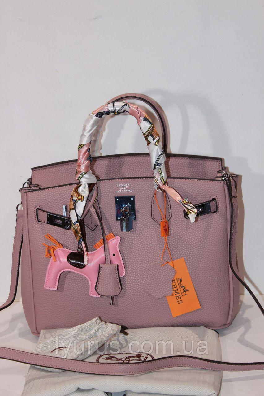 6aa0abf97837 Женская сумка в стиле Hermes Birkin 30см - Интернет магазин LyuRus в Полтаве
