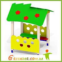 Детский домик на дачу Малыш P40