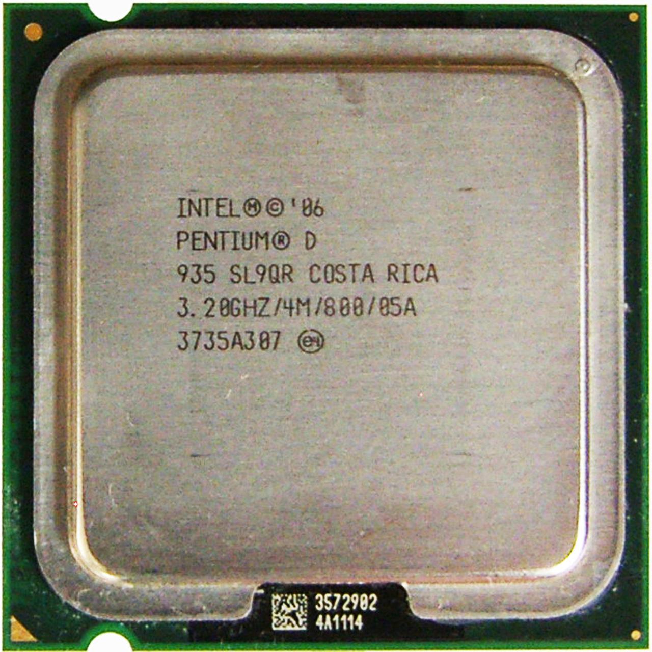 Процессор Intel Pentium D 935 3.20GHz/4M/800 (SL9QR) s775, tray