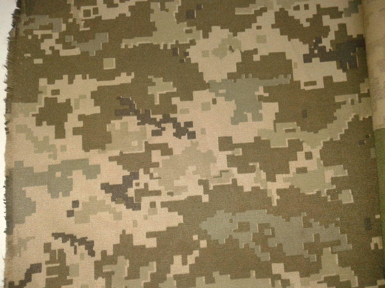 Мірний клапоть камуфляж , піксель Україна ЗСУ, бавовна, Т-2( шир1,5 метра)