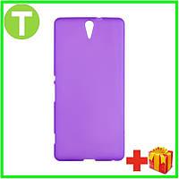 Чехол для телефона Sony Original Silicon Case Sony Xperia C5 Violet