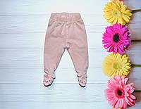 Детские Ползуны на девочку 56-59 см 1-2 месяца