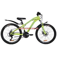 Подростковый велосипеды Formula Dakar DD 24 дюйма салатно-синий