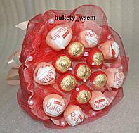 Букеты из конфет Милана подарочный поздравительный съедобный