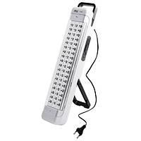 Прибор аварийного света переносной yajia 6808, крепится на стену, 54 led-диода, яркий/мягкий свет, пластик