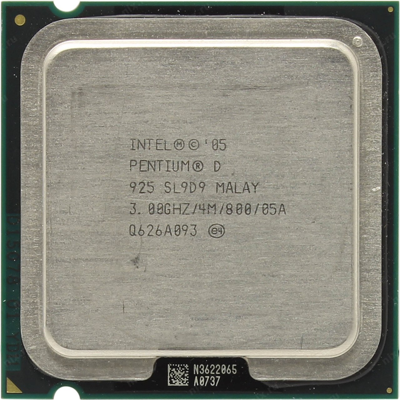 Процессор Intel Pentium D 925 3.00GHz/4M/800 (SL9D9) s775, tray