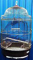 Золотая клетка для птиц, круглая(d33х56,5 cm), фото 1
