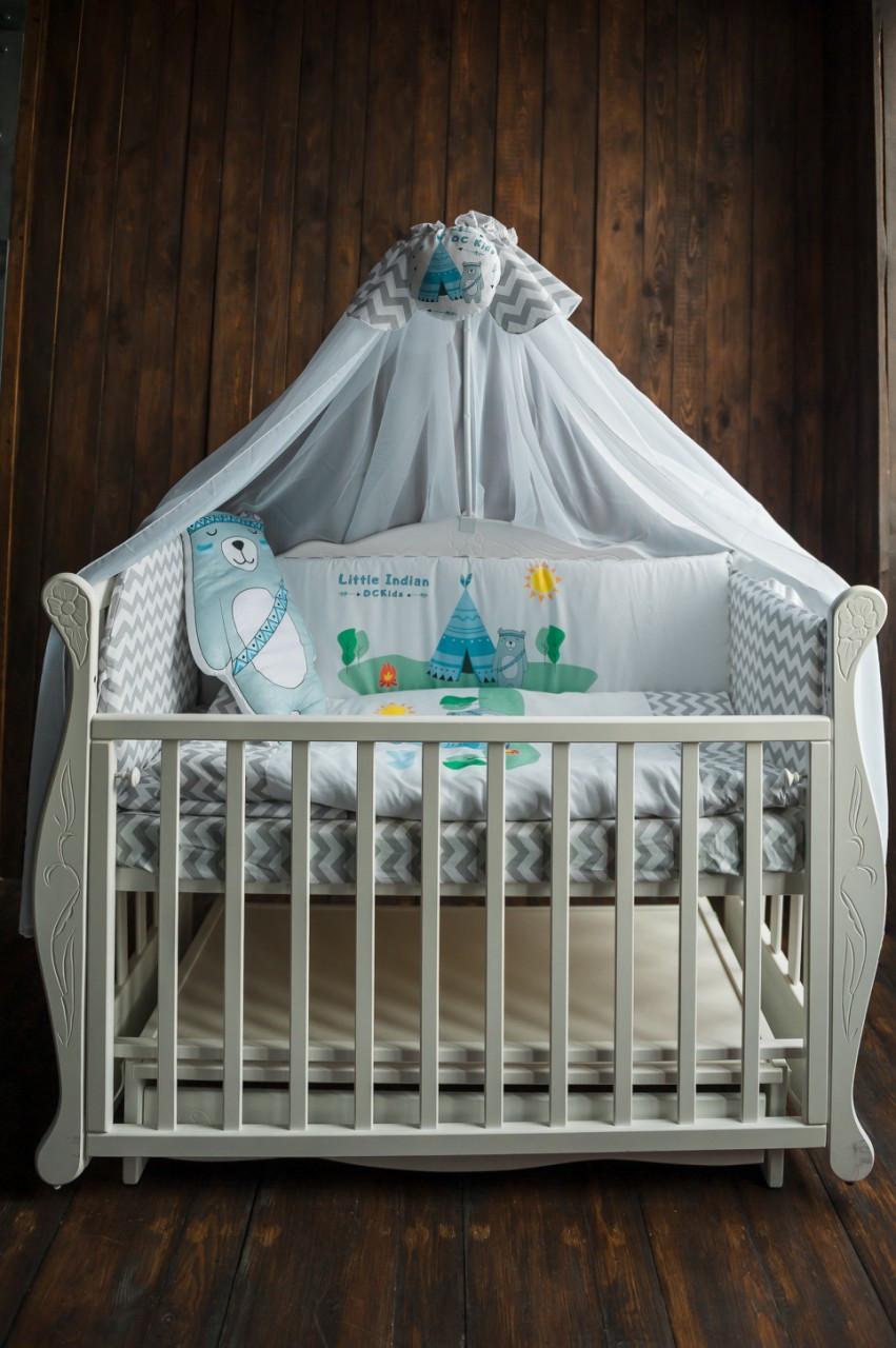 Комплект для детской кроватки LITTLE INDIAN