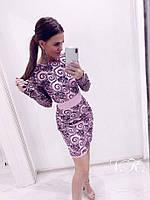 Женское коктейльное платье  Н-465