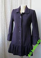 Пальто женское шерсть бренд Next р.44