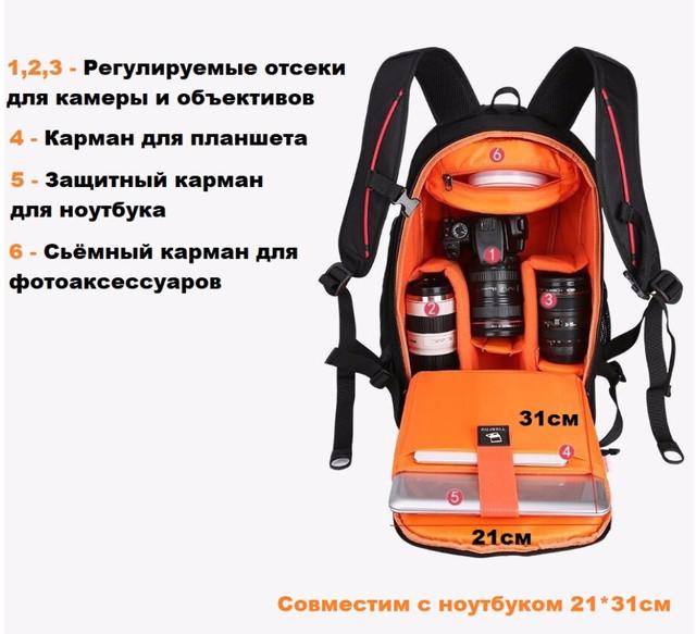 Рюкзак для фотооборудования