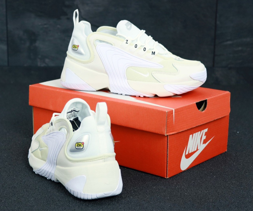 dd536ac7a ... Мужские Кроссовки Nike Zoom 2K, Найк Зум белые / Реплика 1:1 Оригинал,