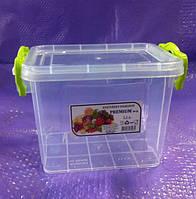 Контейнер пищевой пластиковый Lux 1.1 л