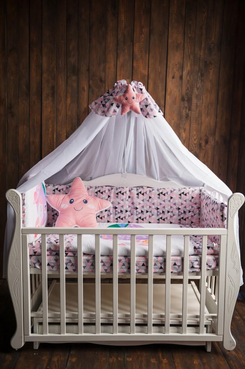 Комплект для детской кроватки LITTLE EXPLORER