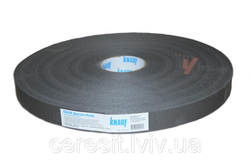 Стрічка звукоізоляційна Knauf  дихтунгбанд 50мм (30 м пог)